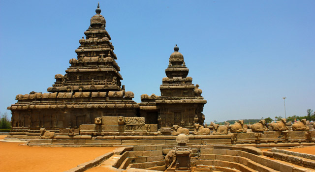 Mahabalipuram Temple is an UNESCO Heritage site and one of the most popular monuments of Chennai
